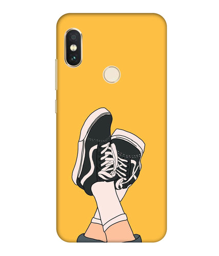 Redmi Note 6  Shoes mobile cover