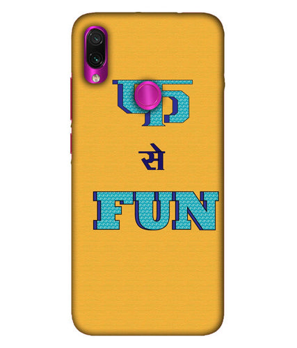 Redmi Note 7 Pro Fun Mobile Cover
