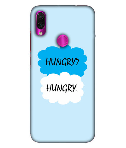 Redmi Note 7 Pro Hungry Mobile Cover