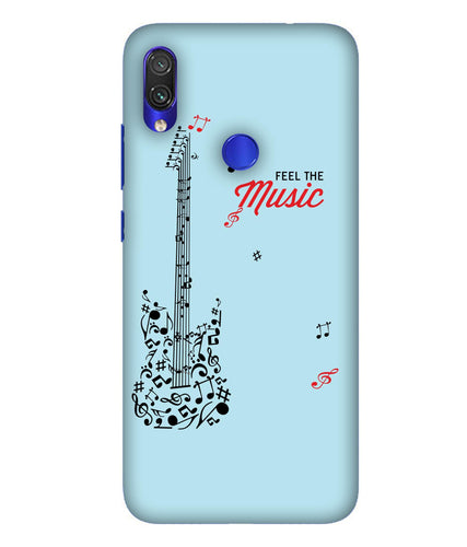 Redmi Note 7 Music Mobile Cover