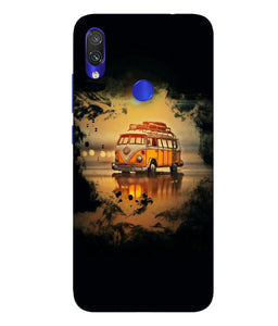 Redmi Note 7 Sunset Mobile Cover