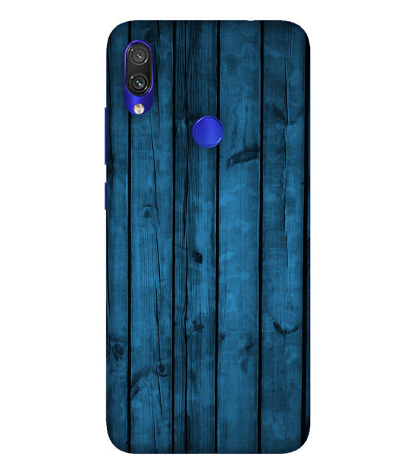 Redmi Note 7 Bluwood Mobile Cover