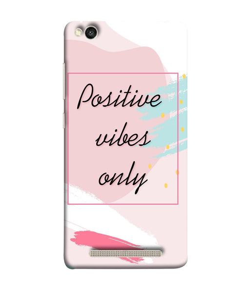 Redmi 5-A Positive Vibes Only Mobile Cover