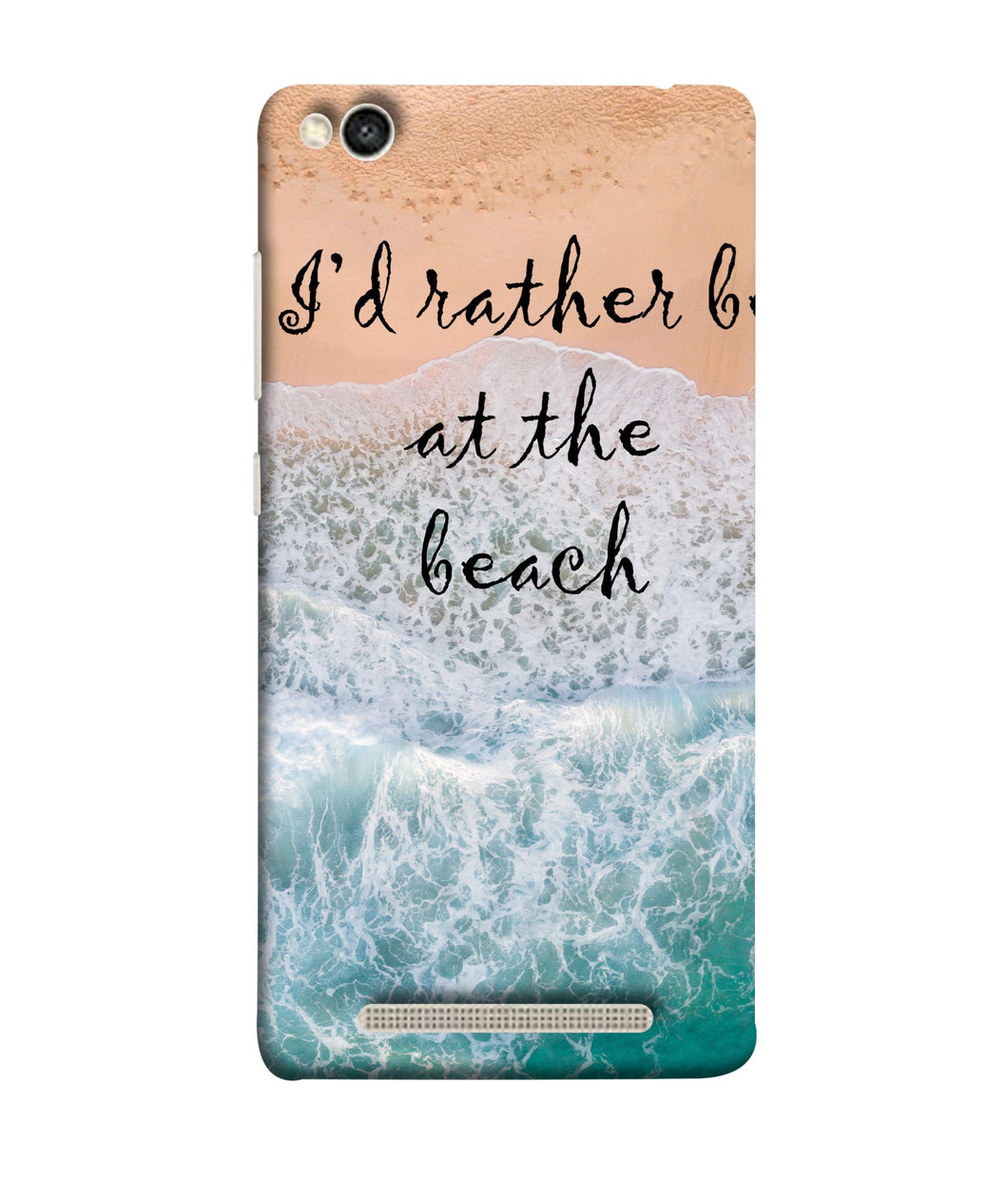 Redmi 5-A Beach Mobile Cover