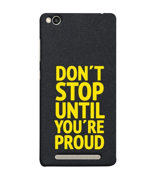 Redmi 5-A Don't Stop mobile cover