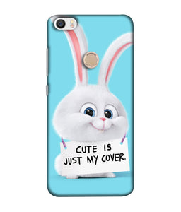 Redmi Max  Bunny mobile cover