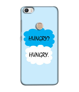 Redmi Max  Hungry mobile cover