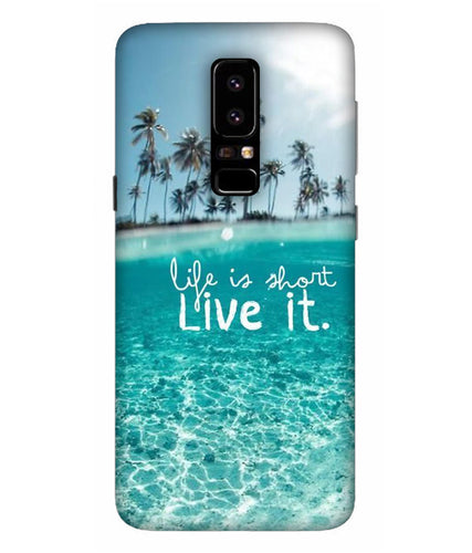 Samsung Galaxy A5-2018 Live Life mobile cover