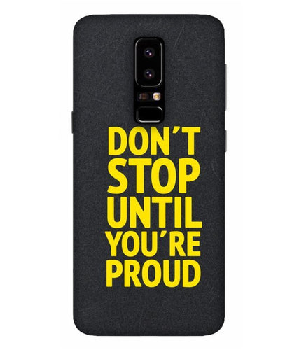 Samsung Galaxy A5-2018 Don't Stop mobile cover