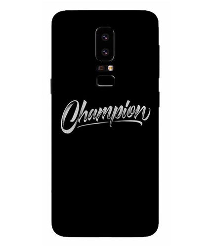 Samsung Galaxy A5-2018 Champion mobile cover