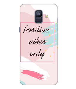 Samsung Galaxy A8 Star Positive Vibes Only Mobile Cover