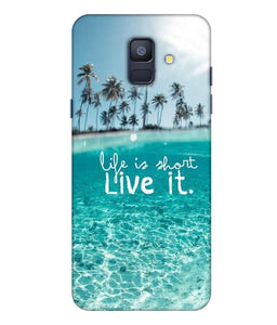 Samsung Galaxy A8 Star Live Life Mobile cover