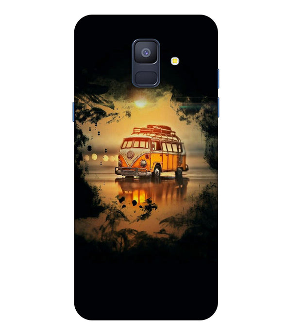 Samsung Galaxy A8 Star Sunset Mobile cover