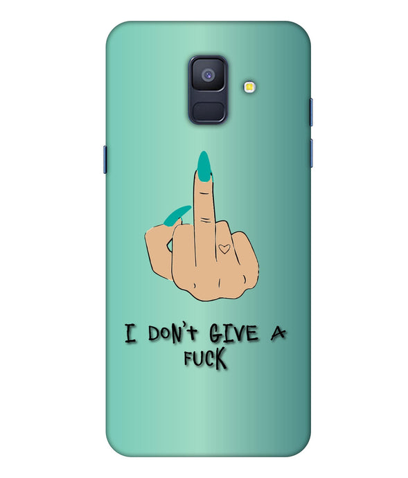 Samsung Galaxy A8 Star I Don't Give a Fuck Mobile Cover