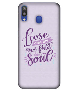 Samsung M20 Soul mobile cover