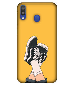 Samsung M20 Shoes mobile cover