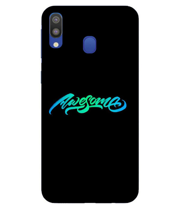 Samsung M20 Awesome mobile cover