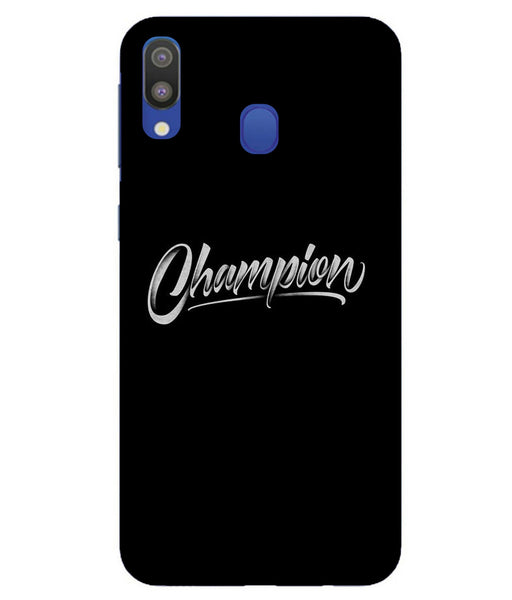 Samsung M20 Champion mobile cover