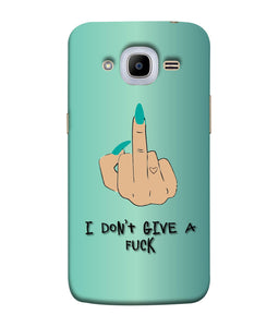 Samsung Galaxy J2-2016 I Don't Give a Fuck Mobile Cover