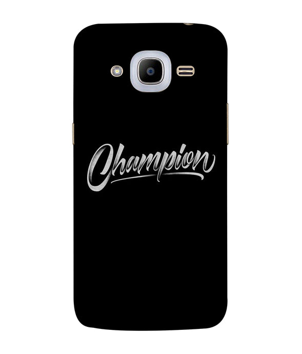 Samsung Galaxy J2-2016 Champion Mobile Cover