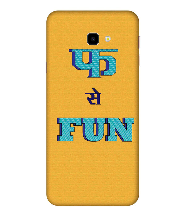 Samsung Galaxy J4 Fun Mobile Cover