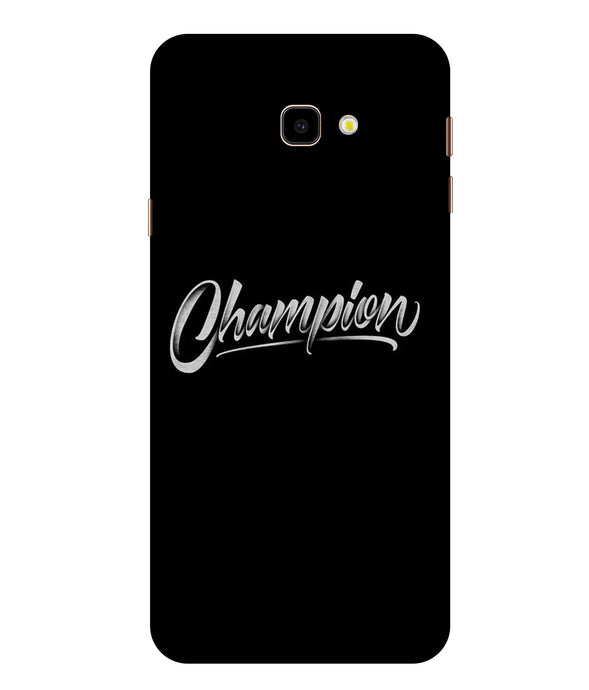 Samsung Galaxy J4 Champion Mobile Cover