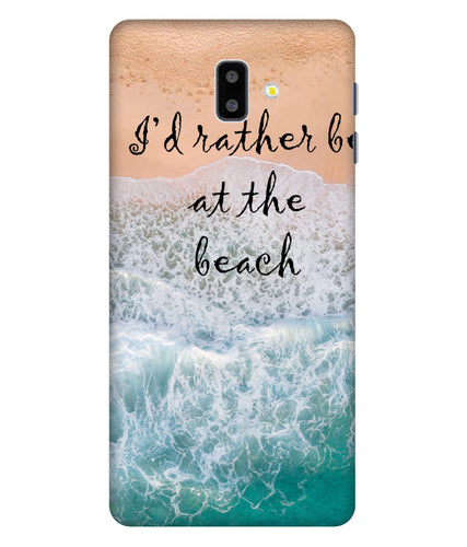 Samsung Galaxy J6 Beach Mobile Cover