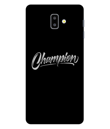 Samsung Galaxy J6 Champion Mobile Cover