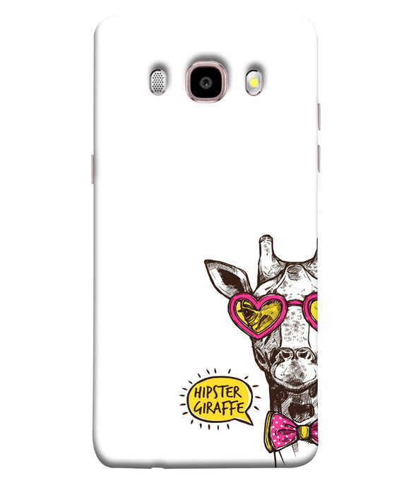 Samsung Galaxy J7-2016 Hipster Giraffe Mobile cover