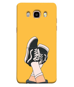 Samsung Galaxy J7-2016 Shoes Mobile cover
