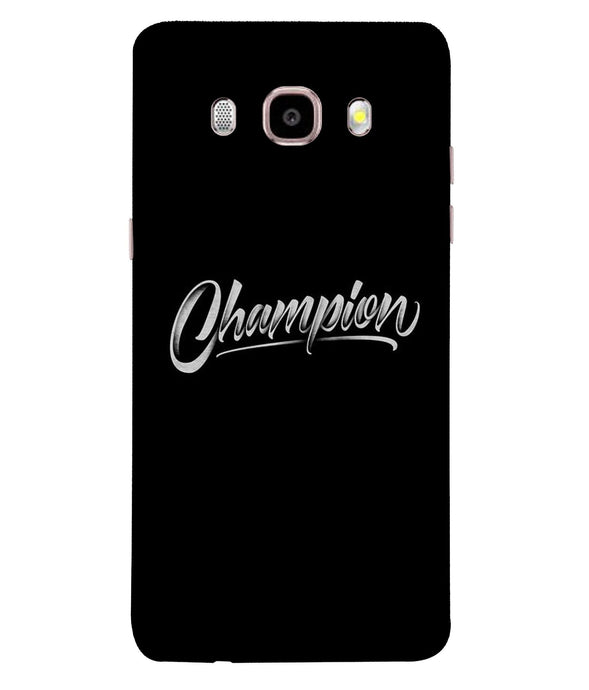 Samsung Galaxy J7-2016 Champion Mobile cover