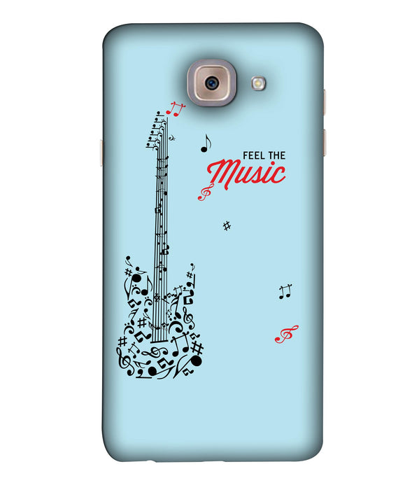Samsung J7 Max Music mobile cover