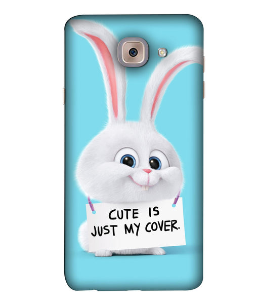 Samsung J7 Max Bunny mobile cover