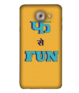 Samsung J7 Max Fun mobile cover