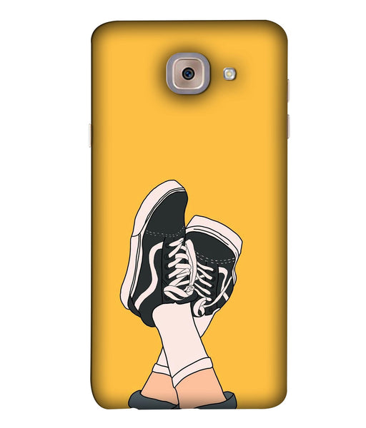 Samsung J7 Max Shoes mobile cover