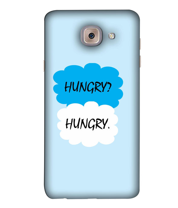Samsung J7 Max Hungry mobile cover