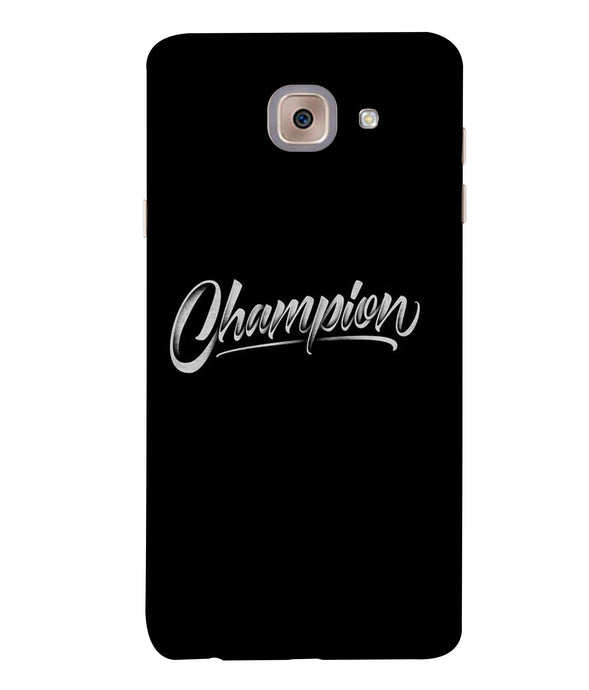 Samsung J7 Max Champion mobile cover