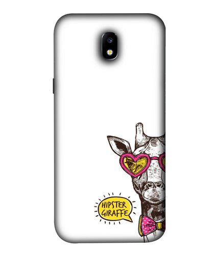Samsung Galaxy J7 Pro Hipster Giraffe Mobile Cover