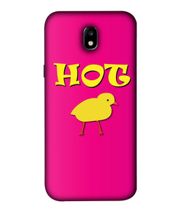 Samsung Galaxy J7 Pro Hot Chick Mobile Cover