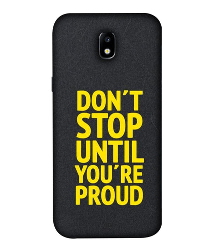 Samsung Galaxy J7 Don't Stop Pro Mobile cover
