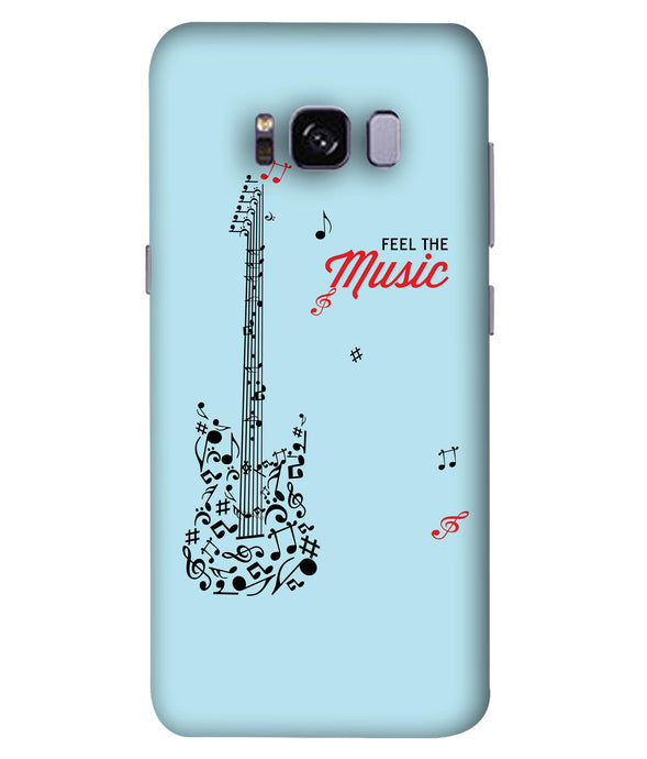 Samsung Galaxy S8 Plus Music Mobile Cover