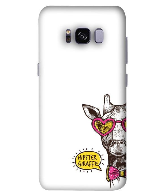 Samsung Galaxy S8 Plus Hipster Giraffe Mobile Cover