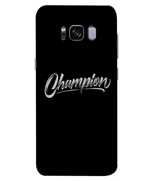 Samsung Galaxy S8 Plus Champion Mobile Cover