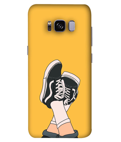 Samsung S8 Shoes mobile cover