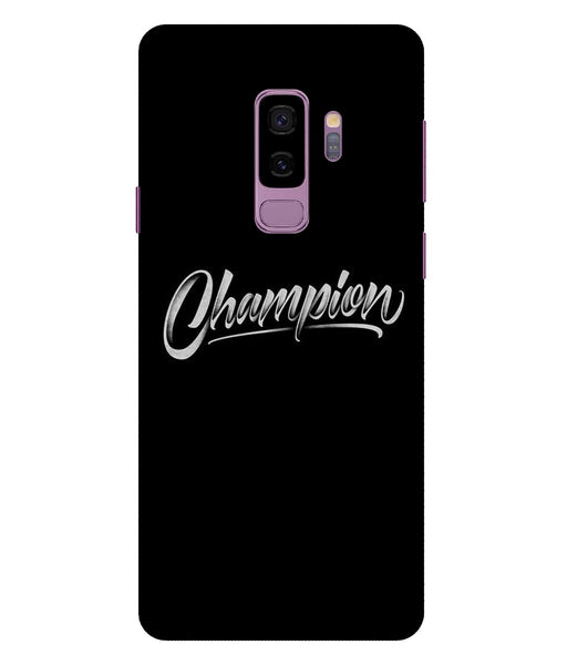 Samsung Galaxy S9 Champion Plus Mobile cover