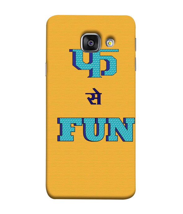 Samsung Galaxy A3-2017 Fun mobile cover