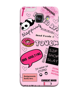 Samsung Galaxy A3-2017 Doodles mobile cover