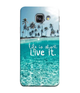 Samsung Galaxy A3-2017 Live Life mobile cover