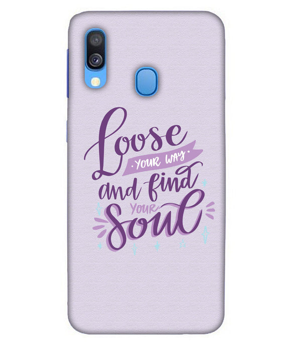 Samsung A40 Soul mobile cover