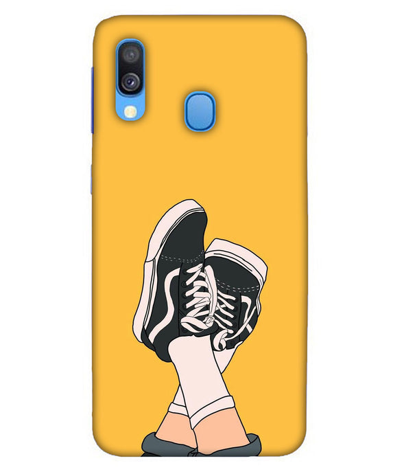 Samsung A40 Shoes mobile cover